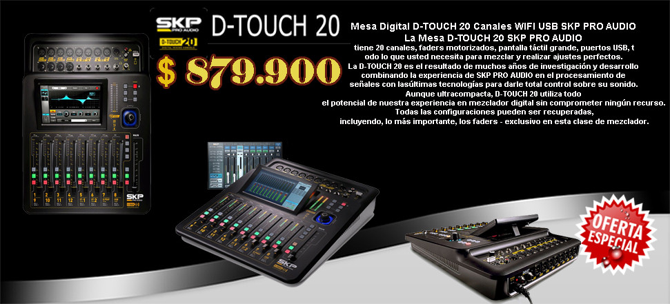 D-TOUCH 20