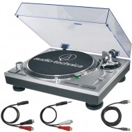 AT-LP120 USB SILVER TORNAMESA AUDIOTECHNICA