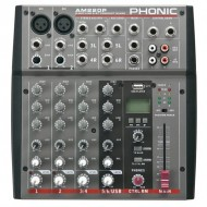 AM220P  MIXER CON USB PLAYER PHONIC