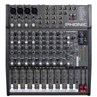 AM442D USB  MIXER CON EFECTO  PHONIC