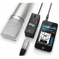 iRIG PRE PREAMPLIFICADOR MOVIL DE MICROFONO ANDROID/IPHONE/IPOD TOUCH/IPAD IK MULTIMEDIA