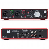 SCARLETT 2I4 MK2 INTERFAZ AUDIO USB FOCUSRITE