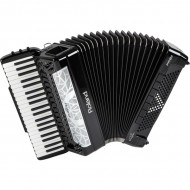 FR-8x | Acordeón Tipo Piano Negro -serie V-Accordion®.
