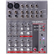 AM105 MIXER 2 MIC/4 STEREO PHONIC